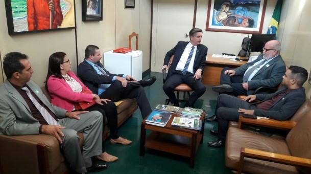 Dagoberto garante R$ 1,76 milhão para Água Clara