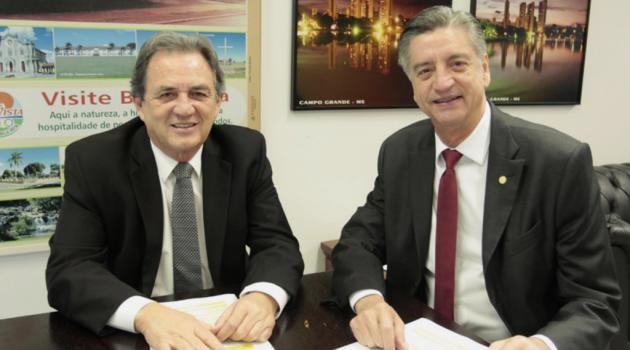 Dagoberto participa de reunião da bancada mato-sul-grossense para discutir emendas na LOA 2019