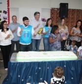 Dagoberto participa da comemoração dos 10 anos do Ceinf Felipe Sáfadi Alves Nogueira