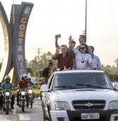 Dagoberto Nogueira inicia campanha percorrendo 10 municípios da região Norte
