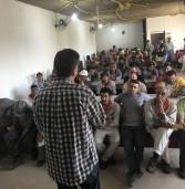 Dagoberto visita trabalhadores da construção civil em Campo Grande
